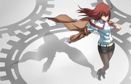 blue_eyes boots coat desktop makise_kurisu necktie redhead short_shorts shorts steins_gate // 1555x1000 // 383.8KB