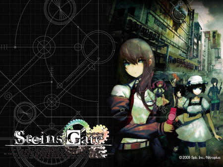 blue_eyes cellphone desktop makise_kurisu necktie redhead steins_gate // 1280x960 // 1.1MB
