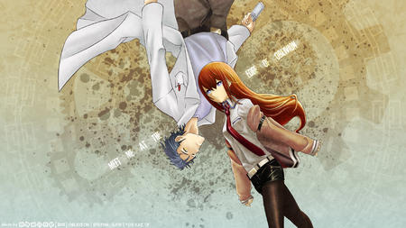 blue_eyes cellphone coat desktop kyouma lab_coat makise_kurisu necktie redhead shorts short_shorts steins_gate // 1920x1080 // 901.2KB