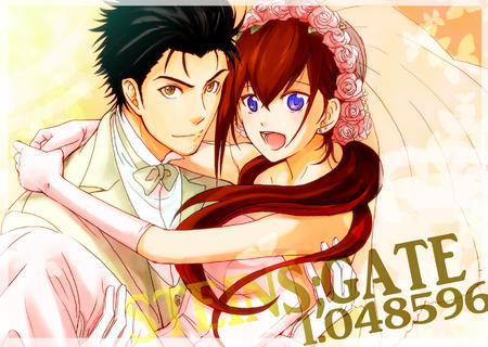 blue_eyes bowtie bride desktop flower gloves kyouma makise_kurisu redhead steins_gate veil // 1742x1240 // 1.2MB