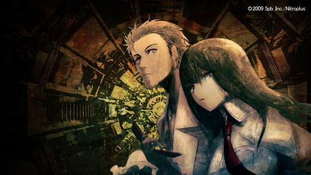 blue_eyes cell_phone desktop kyouma lab_coat makise_kurisu necktie steins_gate // 1280x720 // 814.7KB
