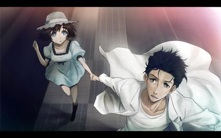 blue_eyes brunette dress hat kyouma lab_coat shiina shorts steins_gate // 1680x1050 // 122.6KB