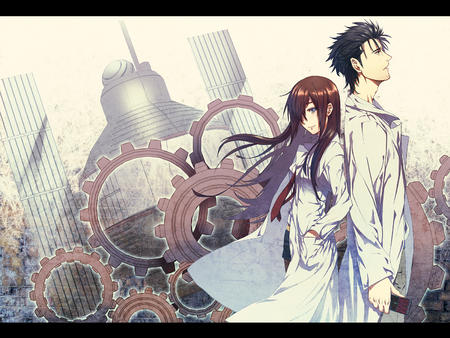 blue_eyes desktop kyouma lab_coat makise_kurisu necktie redhead shorts steins_gate // 1500x1125 // 1.4MB