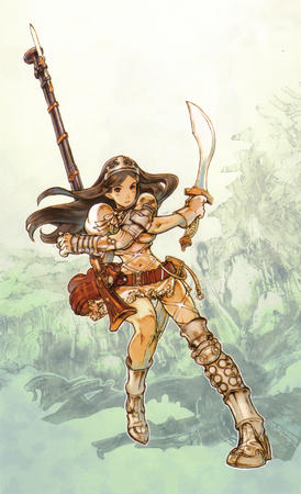 boots brown-eyes brunette crown dress gauntlets rifle sword // 1632x2680 // 1.7MB