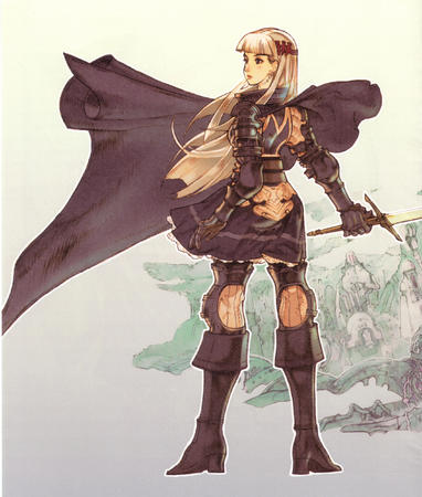 armor blonde boots cape gauntlets sword // 2127x2508 // 1.9MB