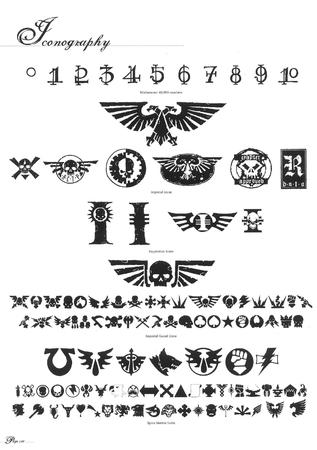 bw icon imperial_guard logo space_marines wh40k // 2018x2864 // 387.2KB