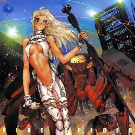 blonde gloves long_hair masamune_shirow mecha // 576x576 // 893.8KB
