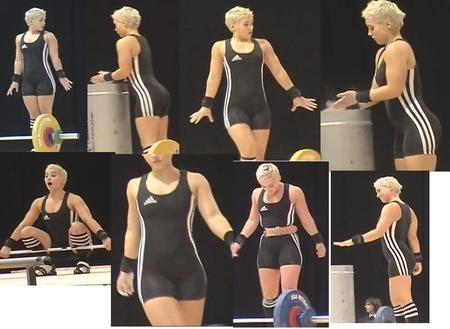 blonde composite photo samantha_wright weightlifting // 921x673 // 118.0KB