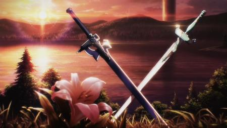 desktop flower lake screenshot sword sword_art_online // 1920x1079 // 136.8KB