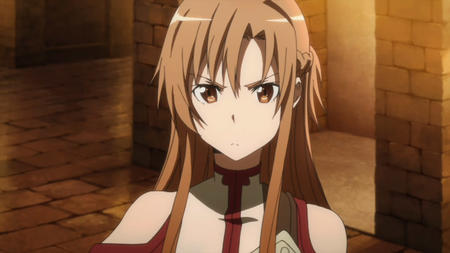 asuna braids long_hair screenshot sword_art_online // 1280x720 // 101.3KB