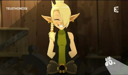 blonde braids cleophee cra reaction screenshot wakfu // 908x534 // 523.9KB