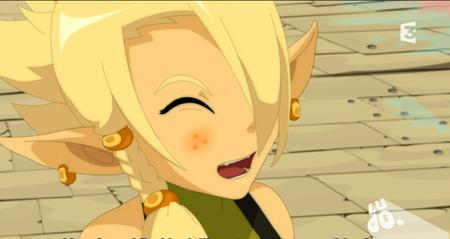 blonde braids cleophee cra freckles reaction screnshot wakfu // 911x484 // 464.0KB