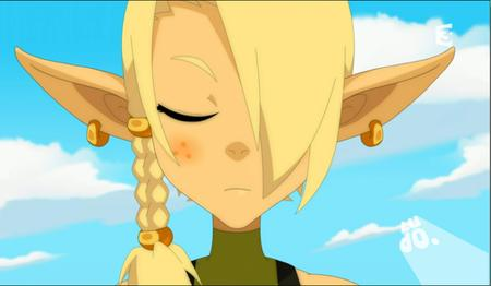 blonde braids cleophee cra freckles reaction screenshot wakfu // 915x533 // 433.3KB