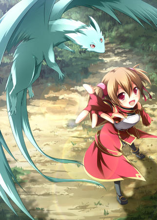 boots breastplate dragon familiar gloves silica sword_art_online twintails // 1000x1399 // 886.8KB