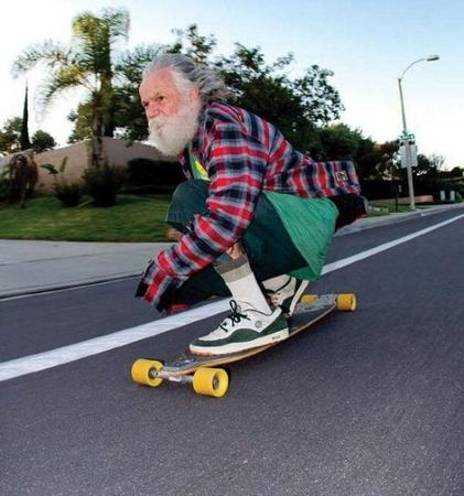 beard gray_hair photo skateboard // 500x534 // 56.4KB