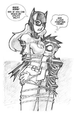 batgirl bw cape comic dc robin sketch // 436x660 // 59.3KB