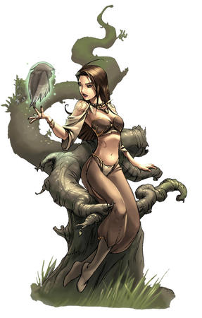 brunette dnd harem_pants long_hair // 510x800 // 82.4KB