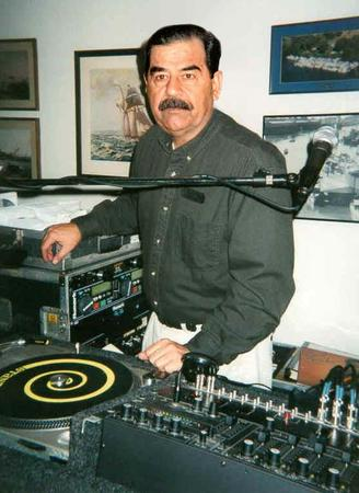 dj humor mustache photo saddam_hussein // 557x764 // 55.0KB