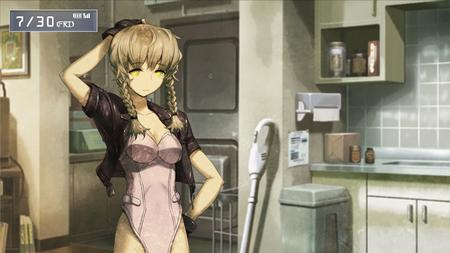 braids cleavage cosplay ghost_in_the_shell gloves jacket major_kusanagi steins_gate suzuha twintails // 1366x768 // 215.9KB