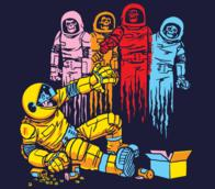 astronaut ghost helmet pac-man pills spacesuit // 640x561 // 60.0KB