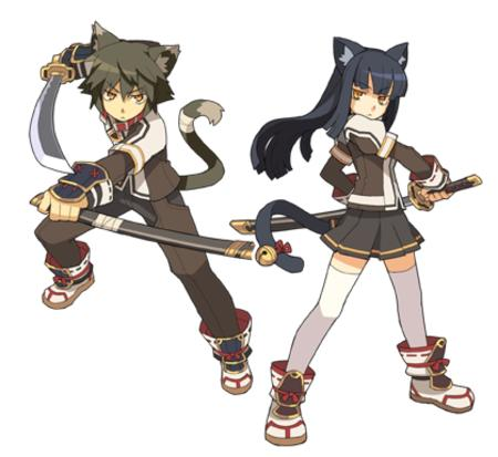 boots brunette jacket katana nekomimi short_skirt skirt sword tail thighhighs // 419x385 // 140.5KB