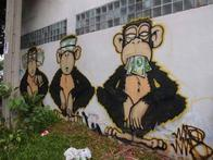 graffiti money monkey // 500x375 // 37.8KB