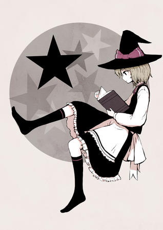 apron book dress hat witch // 724x1024 // 135.2KB