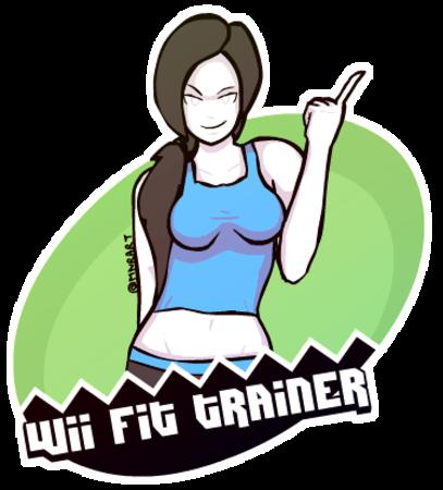 animated brunette nintendo ponytail sports_bra wii_fit // 375x415 // 1.2MB