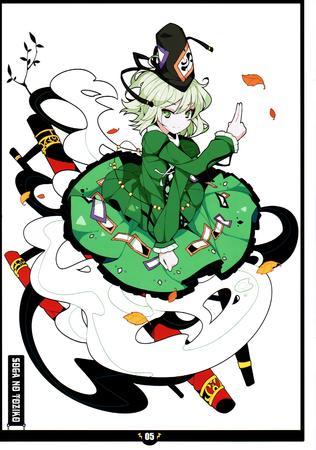 dress green_eyes hat jacket white_hair // 2100x2992 // 769.4KB