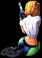 abbey blonde danger_girl gun // 464x643 // 27.3KB