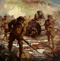bayonette harry_fisk helmet military oil rifle square tank wwi // 1564x1600 // 704.4KB