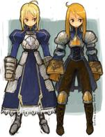 agrias blonde braids fate fft final_fantasy gauntlets saber // 600x780 // 110.6KB