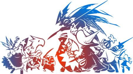 archer black_mage bow chocobo conjurer dragoon fft final_fantasy group knight ninja onion_knight sword time_mage white_mage // 2443x1367 // 682.0KB