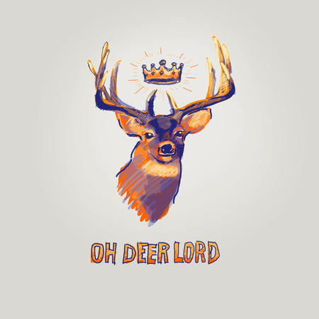 crown deer macro reaction // 3000x3000 // 442.8KB