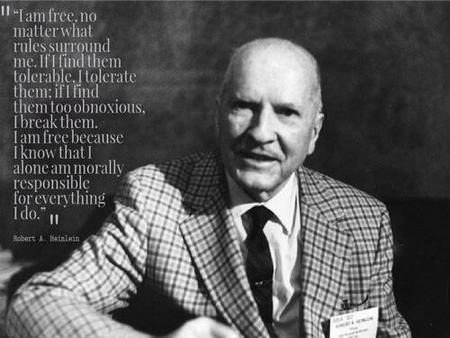 bullshit bw freedom heinlein photo quote // 500x375 // 31.9KB