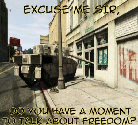 do_you_have_a_moment freedom humor macro photo tank // 500x453 // 46.2KB