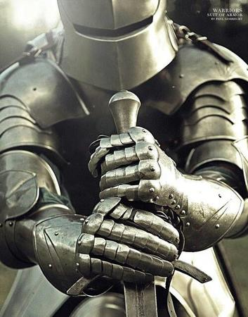 armor gauntlets photo sallet sword // 500x638 // 55.0KB