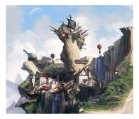 cliff observatory pirate scenery shipwreck // 900x769 // 328.3KB