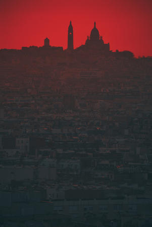 mosque photo scenery skyline sunset // 686x1024 // 215.9KB