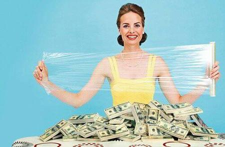 creepy dress money photo saran_wrap // 500x327 // 27.4KB