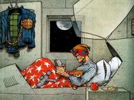 bed book dredd gun helmet judge_dredd pajamas teddy_bear // 1024x768 // 169.2KB