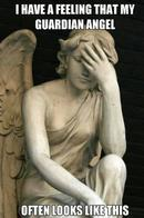 angel facepalm guardian_angel macro statue wings // 500x753 // 49.8KB