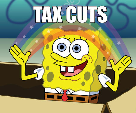 political rainbow reaction republican spongebob tax_cuts vector // 1902x1573 // 302.4KB