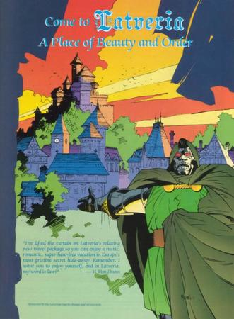 doctor_doom doom humor latveria marvel poster // 753x1024 // 97.7KB