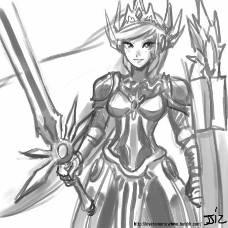 armor bw crown shield sketch sword // 805x805 // 130.4KB