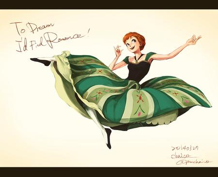 anna blue_eyes disney dress frozen redhead // 900x731 // 425.2KB