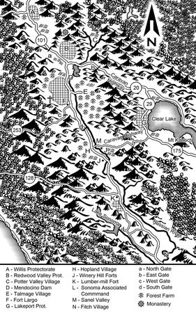 bw california map sonoma // 638x1020 // 556.7KB