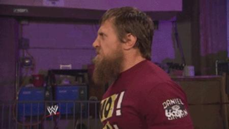 animal animated beard daniel_bryan muppet no reaction wwe // 300x170 // 1.0MB