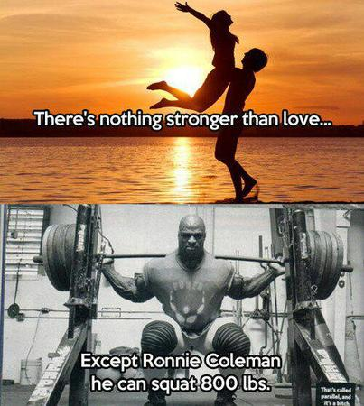 humor photo quote ronnie_coleman // 500x558 // 60.9KB