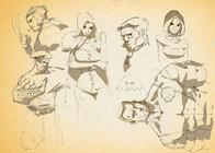 beast colossus composite emma_frost rogue sketch wolverine x-men // 1066x761 // 302.8KB